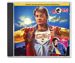 TEEN WOLF 1985 amp; TEEN WOLF TOO 1987 CD Special Edition Soundtrack 80#x27;s Pop