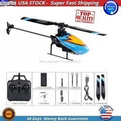 Firefox C129 4ch Flybarless 2.4GHz Micro RC Helicopter RTF w 6 Axis Gyro Blue $99.40