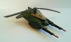 Vintage DC Comic BATMAN HELICOPTER Trigger Action Fires and Rotating Blades $7.50