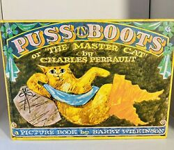 Puss In The Boots Book By Charles Perrault. 1968 $9.15