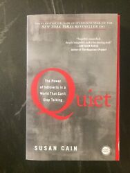 Quiet: The Power of Introverts in a World That Can#x27;t Stop Talking by Susan Cain $6.00