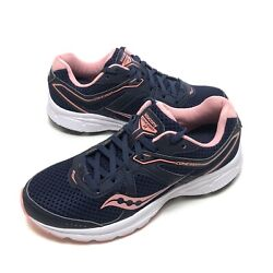 Saucony Grid Cohesion 11 Running Women#x27;s Shoes Size 8 Navy Pink S10420 16 $42.77