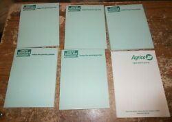 6 lot 5 smith douglass 1 agrico note pads new $19.99