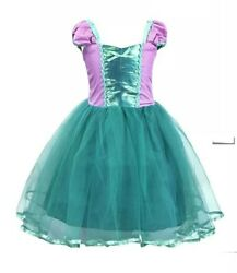 Princess Sofia Rapunzel Costume Cosplay Party Long Gown Dress up for Kids Girls $21.00