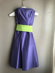 Purple Dress for Cocktail Party Formal Occasion or Wedding Wm#x27;s SIZE 4 Strapless $45.00