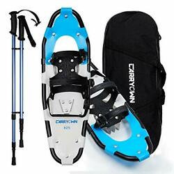 Carryown 714 Kids Snowshoes Full Kit With Poles amp; Carrying Bag $35.00