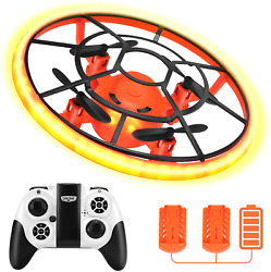 Hr Mini Drones For KidsRc Drone For Beginners With Neno LightRc Helicopter Qua $31.99