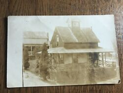 House Cottage Scene in Tiverton Rhode Island RPPC Real Photo Postcard $24.99