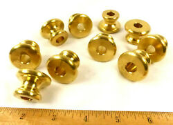 Lamp Parts Spacers Breaks Solid Cast Brass Necks 1 8 IP Ring Set 10 $38.00