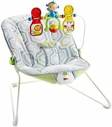 Baby Cradling Bouncer Musical Vibration Rocker Seat Infant Toddler Chair Swing $45.00