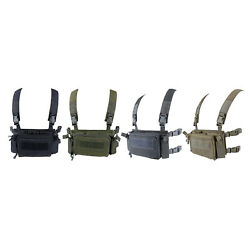 Gaming Modular Tactical Vest Police Combat Gear Army Plate Carrier Hunting $55.23
