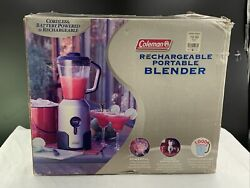 NEW HTF Coleman Rechargeable Portable Blender Model 850 870 Camping Tailgating $99.99