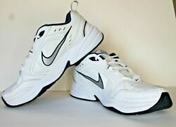 Nike Monarch Air White Blue Running Walking Shoes Low Top Sz 12 Mens New Inserts $30.50