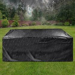 Patio Furniture Cover Super Large Outdoor Sectional Furniture Set Cover Table $41.65
