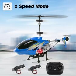 Cheerwing U12 Mini RC Helicopter Remote Control Helicopter with 2 Batteries Blue $29.98