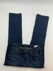 Lucky Brand Womens Low Rise Boot Lolita Dark Wash Denim Jeans 10 30R NWT $55.00