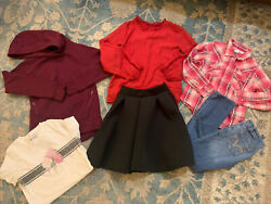 GIRL Size 10 12 Clothing Lot Levi's Cumberland Old Navy Rue 21 6 Pieces $27.99