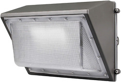 LED Wall Light Dusk To Dawn Photocell 60W Waterproof Outdoor Commercial Lighting