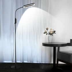 LED Dimmable Floor Lamps Adjustable Reading Lamp Standing Tall Lamp for Home $56.99