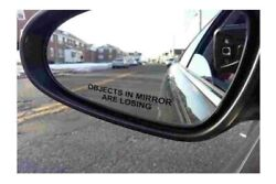BERRYZILLA Pair Objects in Mirror are Losing Decal Black Etched Funny Sticker $2.49