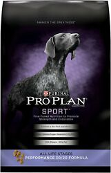 Purina Pro Plan Sport All Life Stages Performance 30 20 Formula 37.5LB $40.00