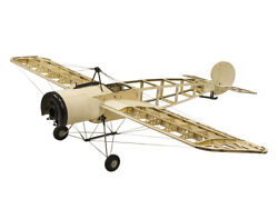 1.2M RC Balsa Electric Airplane Fokker Endecker Laser cut Wooden KIT for Adults $109.90