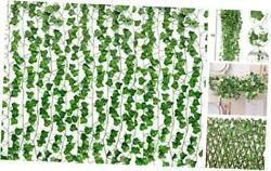 15 Pack 105Ft Fake Vines Ivy for Home Decor Kitchen Wall Bedroom Garden $16.00