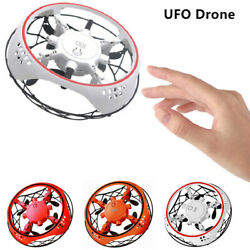 Shockproof Drone Infrared Sensor Flying Induction Aircraft Quadcopter for Kids $15.79