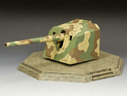 King and Country JN067 quot;The Japanese Coastal Gunquot; 1 30 Metal Toy Soldier Scenery $219.00