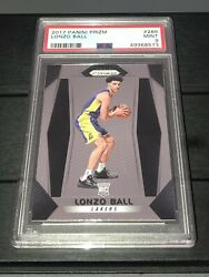 LONZO BALL 2017 18 Panini Prizm RC #289 PSA Mint 9