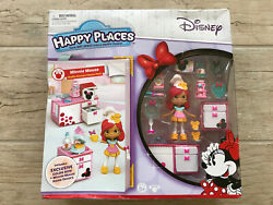 Shopkins Disney Happy Places Minnie Mouse WAFFLE KITCHEN Theme Pack Goldie Bow $49.00