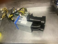 Antminer S9 L3 Vent Attachment Shroud Cowl Adapter 120mm Apw3 Ducting GBP 20.00