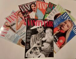 8 Vanity Fair Magazine MAY 2021 Lot Fashion Designer Clothes Eilish Diana News