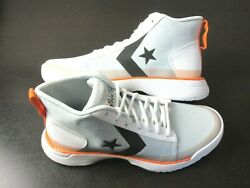 Converse Mens Star Series BB Mid Basketball Shoes Pure Platinum Size 10 165591C $69.99