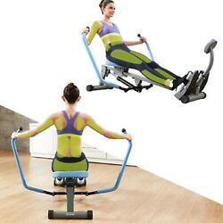 Rowing Machine Indoor Rower Double Paddle Hydraulic Rowing Machine Home Gym $149.99