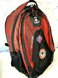 Ogio Backpack Laptop Bag With Embroidered Logo quot;The Ingram Lee Foundationquot; EUC $14.95