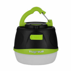 Viugreum Camping LED Lantern Rechargeable Dimmable as Mini Power Bank 5200mAh $9.99