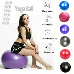 Exercise Ball for Fitness Pilates Stability Balance Yoga Workout Anti Burst