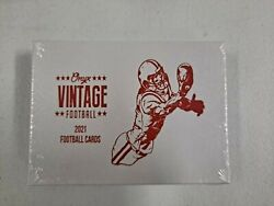 2021 Onyx Vintage Football Hobby Box Two Autos $64.99
