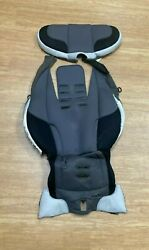 Evenflo Secure Kid Baby Car Seat Gray Cover amp; Padded Insert Set Replacement $24.99