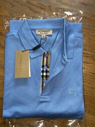 Burberry london men#x27;s nova check placket polo shirt smlxl2xl3xl $80.00