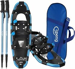 Gpeng 821 3 in 1 Lightweight Snowshoes for Women Youth Aluminum Terrain 21quot; $64.98