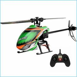 NEW Eachine E130 2.4G 4CH 6 Axis Gyro Altitude Hold Flybarless RC Helicopter RTF $125.90