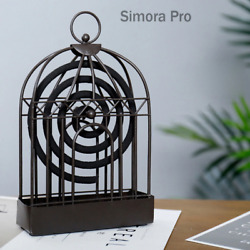 8quot; Metal Hanging Decorative Portable Mosquito Coil Repeller Holder Home Decor $14.99