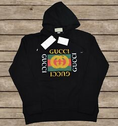 Gucci Hooded Oversized Sweatshirt Gucci Vintage For Men Size S $199.00