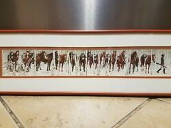 Bev Doolittle quot;Two Indian Horsesquot; Matted and Framed Art Print $150.00