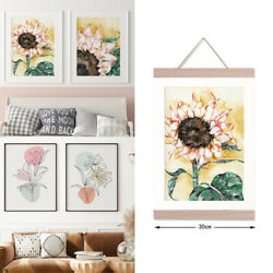 2pc Modern Painting Canvas Flower Canvas Picture Wall Art Living Room Home Decor $9.99
