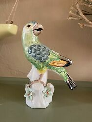 Paul Hanson Parrot Figurine Multi Color Vintage Made in Italy $74.25