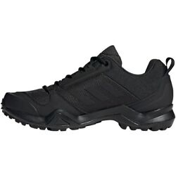 Adidas Terrex AX3 Men#x27;s Trial Hiking Shoes Outdoor Trekking Black NWT BC0514 $129.90