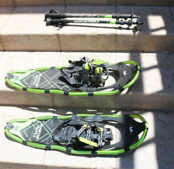 Mountain Profile Snowshoes Model 930 with Poles and Bag 9quot; x 30quot; $89.99